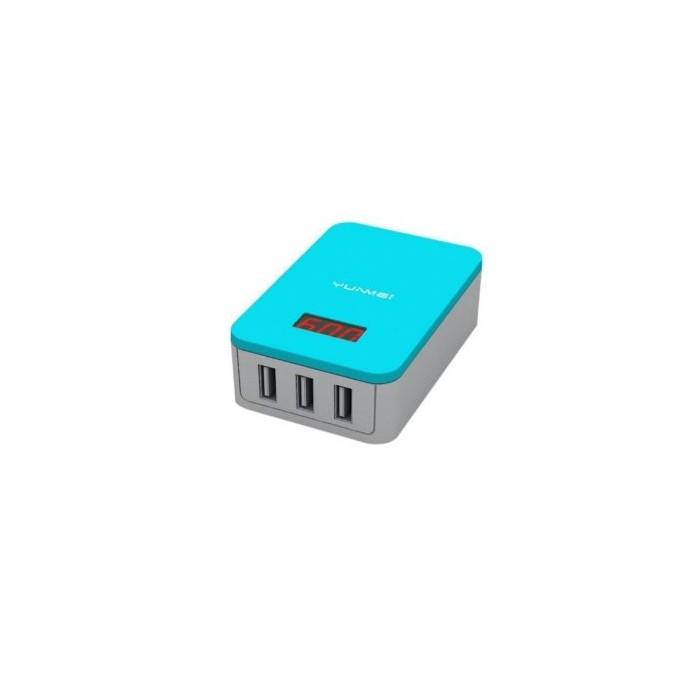 YunMei USB зарядно 3-портов MAX 3.1A