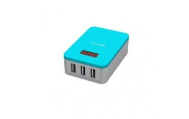 USB зарядно YunMei 3-портво MAX 3.1A