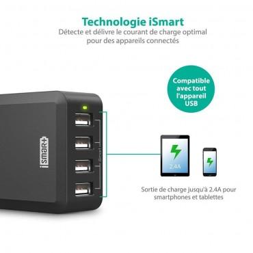 RAVPower USB зарядно устройство за мобилни телефони