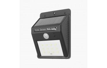 Соларна лампа Soojet sl67, 12 LED , сензор за движение
