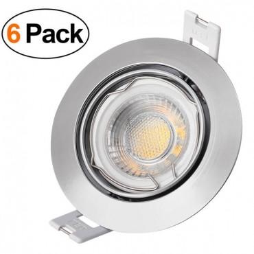 yunlight Осветителни тела за таван 6pcs 6W LED