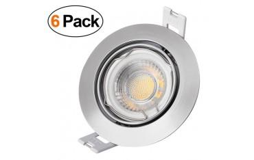 Лампа YUNLIGHTS , 6 бр.LED, 6 W, 600 lm, водоустойчивост IP44, за таван