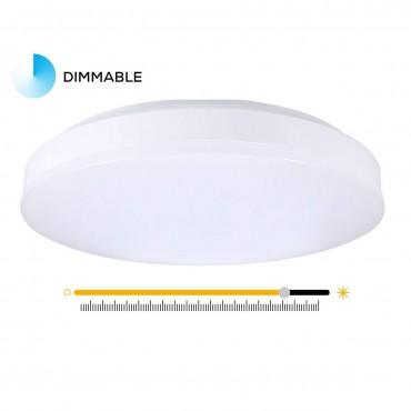 TryLight Таванни лампа 12W Бяла светлина LED