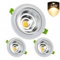 LED лампи за вграждане LEDMO, 12W, Комплект 3 бр, 1200lm
