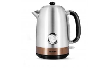 Електричски ретро чайник BESTEK , 2200 W, 1.7 L