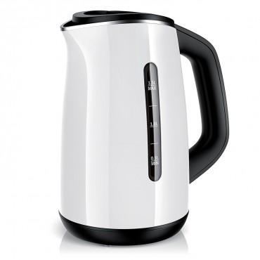 Електрически чайник Arendo, неръждаема стомана, 2200 W, 1.5 L