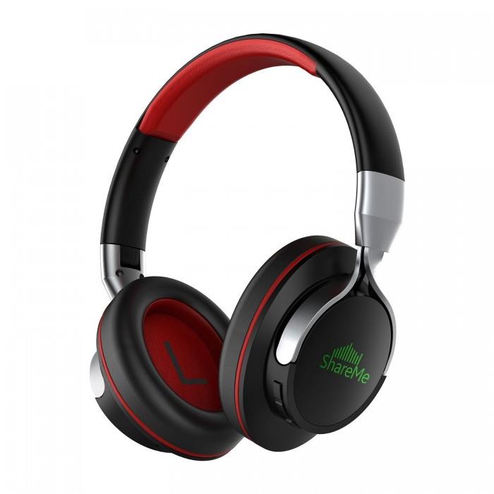 Mixcoder ShareMe Безжична сгъваема стерео слушалка с микрофон