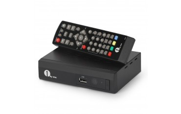 TV box Приемник 1byone 212EU, HDTV, DVB T2, Декодер, Live TV, Родителски контрол