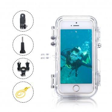 Водоустойчив калъф за iPhone 6 Plus / 6s OXOQO IP68