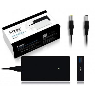 Lizone Ultra Slim 90W адаптер за захранване с USB портове