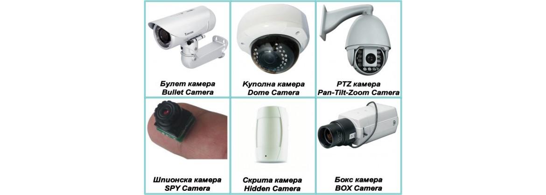 Спортни и Видеокамери, Камери за наблюдение