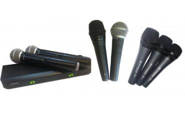 Кабелни и Безжични Микрофони