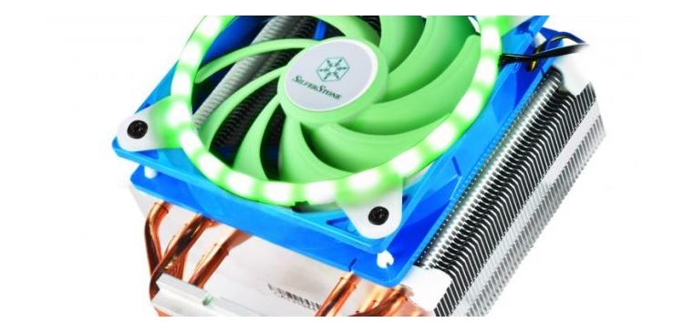 SILVERSTONE FG122 и FG142 – LED рамки за вентилатори